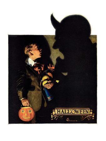 """""""Halloween, 1926,""""October 30, 1926"""