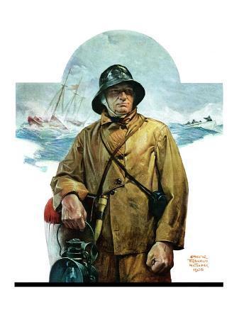 """""""Storm at Sea,""""November 6, 1926"""