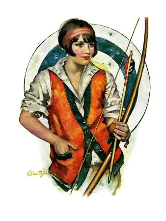 """""""Target Practice,""""October 8, 1927"""