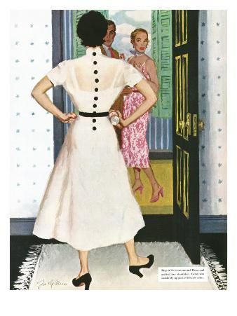 """I Want A Divorce! - Saturday Evening Post """"Leading Ladies"""", September 9, 1950 pg.24"""