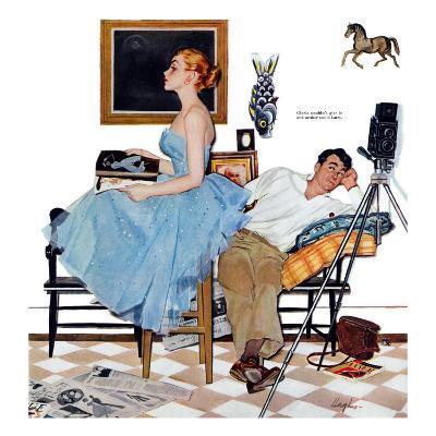 "One Way Affair  - Saturday Evening Post ""Leading Ladies"", September 10, 1955 pg.23"