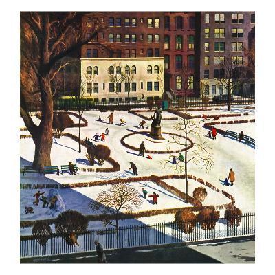 """Gramercy Park"", February 11, 1950"