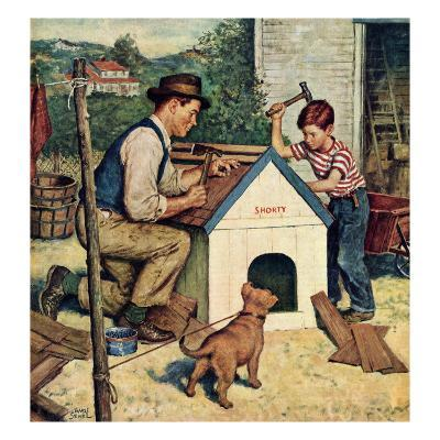 """""""Building the Doghouse"""", March 24, 1951"""