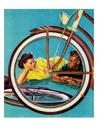 """Bicycle Ride,"" August 16, 1941"