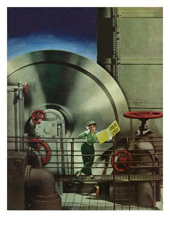 """""""How to Operate a Power Plant,"""" October 2, 1943"""