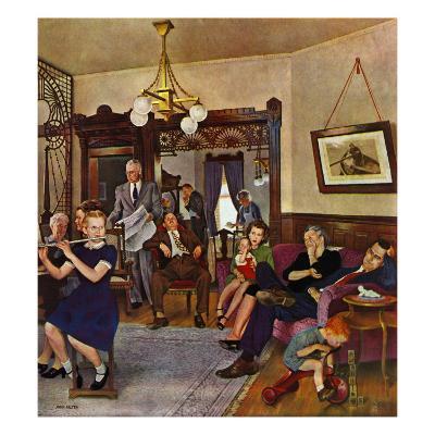 """""""Thanksgiving Flute Performance,"""" November 30, 1946"""