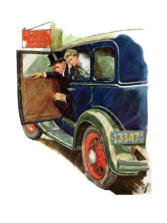 """Flat Tire, Flat Evening,""November 24, 1934"