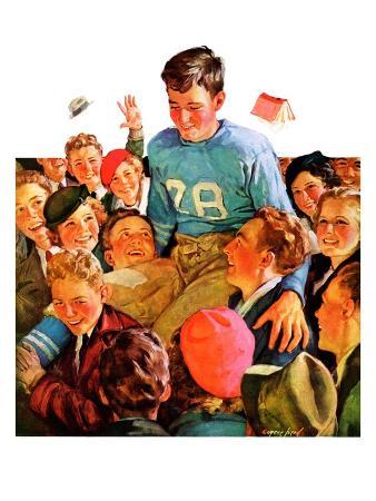 """""""Football Hero,""""November 17, 1934"""