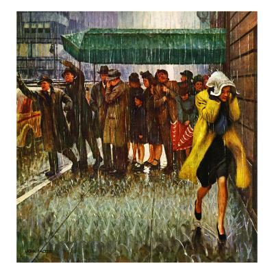 """Rainy Wait for a Cab,"" March 29, 1947"
