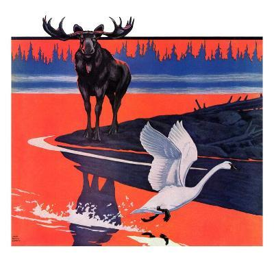 """""""Moose and White Goose,""""March 23, 1935"""