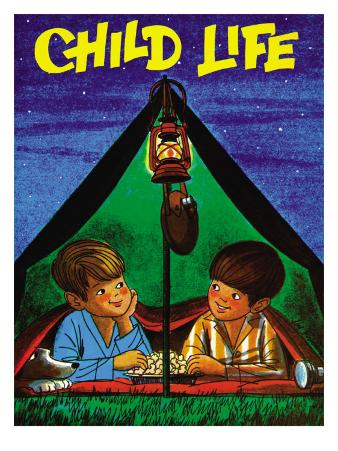Camping - Child Life, August 1971