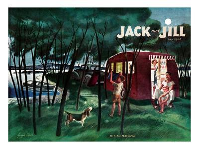 Camping - Jack and Jill, July 1946