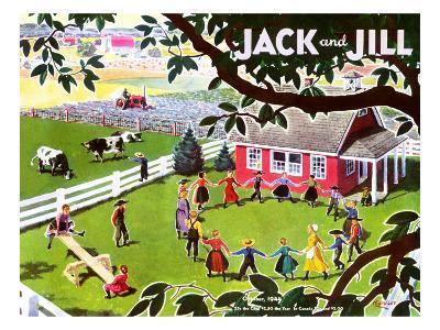 Amish Children - Jack and Jill, October 1944