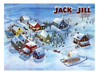 All Is Calm - Jack and Jill, January 1950