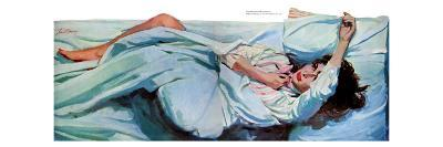 "A Night For Love - Saturday Evening Post ""Leading Ladies"", November 23, 1957 pg.40"
