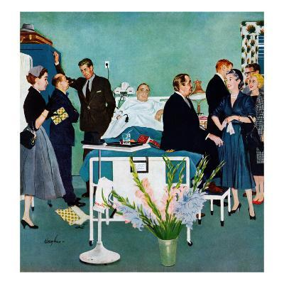 """""""Patient Visitors?"""", February 18, 1956"""