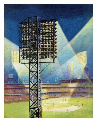 """Baseball Stadium at Night,"" June 28, 1941"