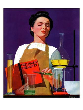 """""""Freshmen Chemistry,"""" May 4, 1940"""