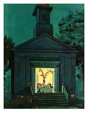 """""""Choir Practice,"""" August 10, 1946"""