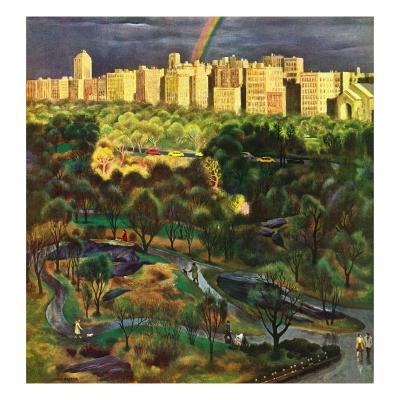 """Central Park Rainbow,"" April 30, 1949"