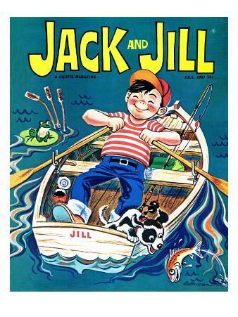 Fishing  - Jack and Jill, July 1967