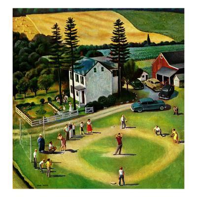 """""""Family Baseball"""", September 2, 1950"""