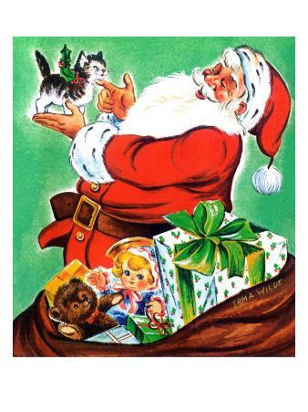 Christmas Kitten - Jack and Jill, December 1963