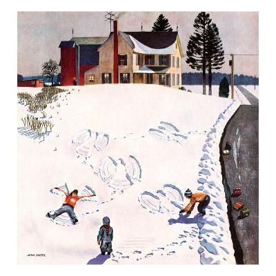 """Snow Angels"", January 10, 1953"