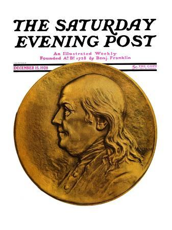 """""""Two Hundredth Anniversary Number,"""" Saturday Evening Post Cover, December 15, 1928"""