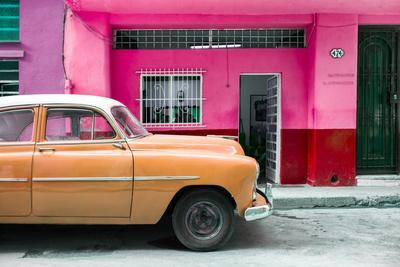 Cuba Fuerte Collection - Vintage Orange Car of Havana