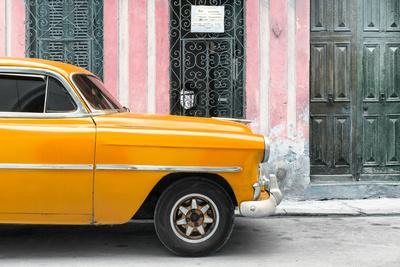 Cuba Fuerte Collection - Havana Orange Car
