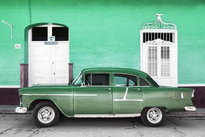 Cuba Fuerte Collection - Old Green Car