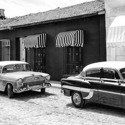 Cuba Fuerte Collection SQ BW - Cuban Taxis Trinidad II