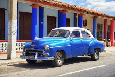 Cuba Fuerte Collection - Cuban Blue Car