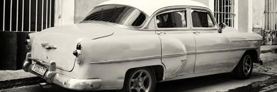 Cuba Fuerte Collection Panoramic BW - American Classic Car