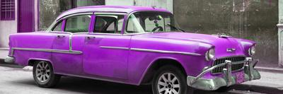Cuba Fuerte Collection Panoramic - Purple Chevy