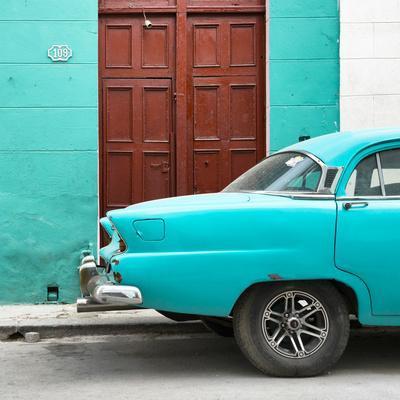 Cuba Fuerte Collection SQ - Havana 109 Street Turquoise