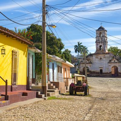 Cuba Fuerte Collection SQ - Quiet Street in Trinidad