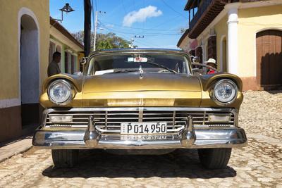 Cuba Fuerte Collection - Classic Golden Car IV