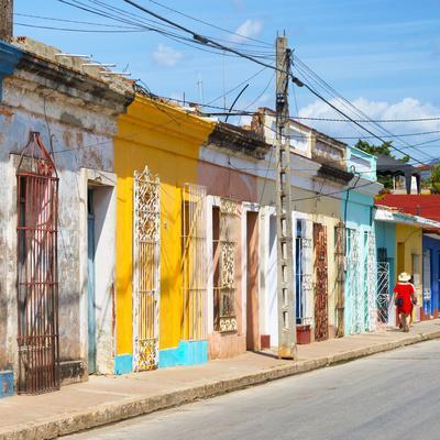 Cuba Fuerte Collection SQ - Colorful Trinidad II