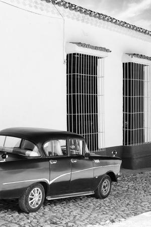 Cuba Fuerte Collection B&W - Classic Car in Sancti Spiritus II