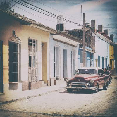 Cuba Fuerte Collection SQ - Urban Vintage Scene in Trinidad