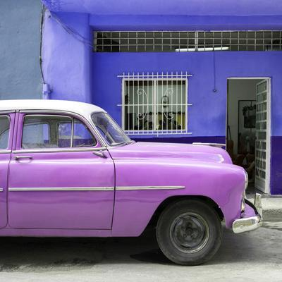 Cuba Fuerte Collection SQ - Vintage Hot Pink Car of Havana