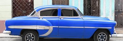 Cuba Fuerte Collection Panoramic - Blue Bel Air Classic Car