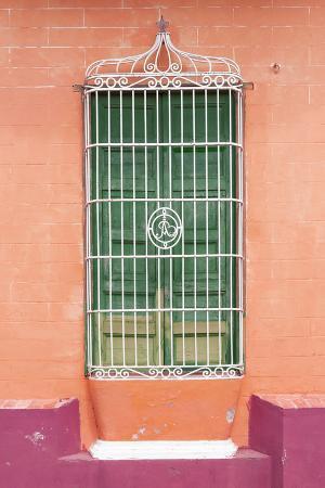 Cuba Fuerte Collection - Colorful Cuban Window III