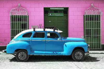 Cuba Fuerte Collection - Skyblue Vintage Car