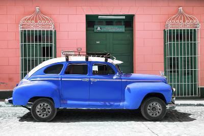 Cuba Fuerte Collection - Blue Vintage Car