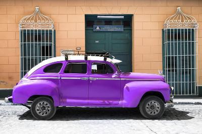 Cuba Fuerte Collection - Purple Vintage Car