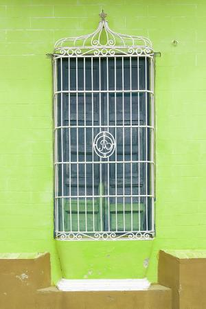 Cuba Fuerte Collection - Colorful Cuban Window II