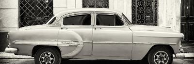 Cuba Fuerte Collection Panoramic BW - Bel Air Classic Car II